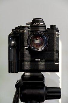 Camera, Lens, Analog Camera, Canon, Photography