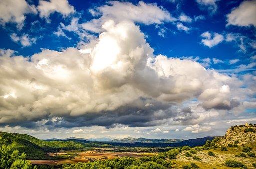 Landscape, Mallorca, Nature, Sky, Clouds, Canyamel