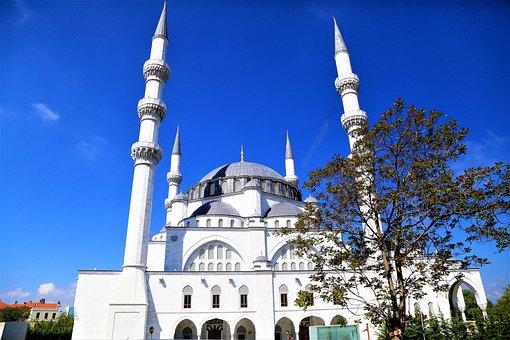 Cami, Minaret, Architecture, Dome, Travel, Religion