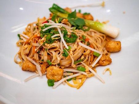 Vegetarian, Pad Thai, Dinner, Food, Cuisine, Noodles