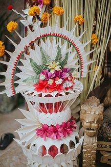 Pajegan, Balinese Decoration, Floral Decor