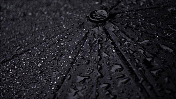 Umbrella, Rainy Weather, Background, Wet, Drop Of Water