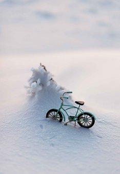Snow, Miniature, Christmas, Winter, Decoration, Weather