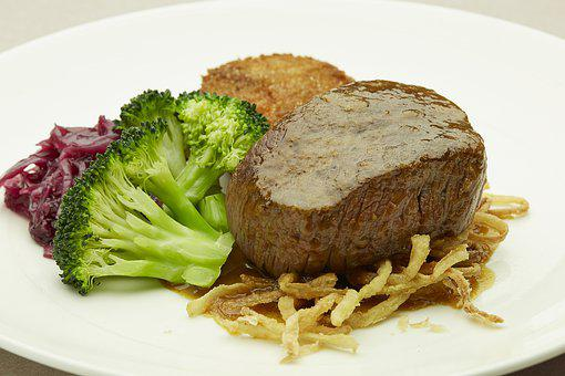 Filet Mignon, Steak, Meat, Beef, Sirloin, Mignon