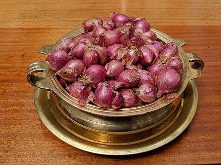 Onion, Vegetable, Bronze, Utensil