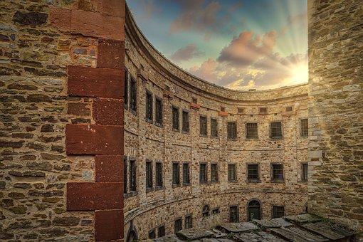 Fortress, Building, Architecture, Ehrenbreitstein