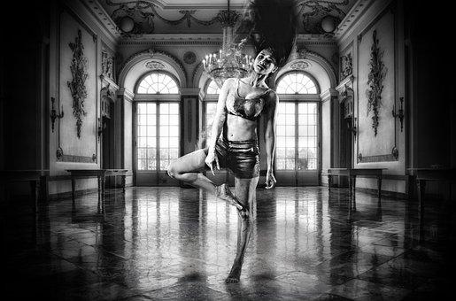 Dancer, Ballroom, Chalk, Powder, Passion, Dedication