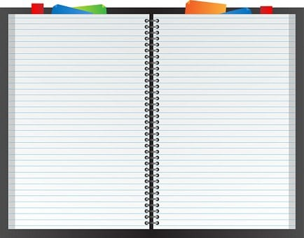 Notebook, Book, Planner, Note Paper
