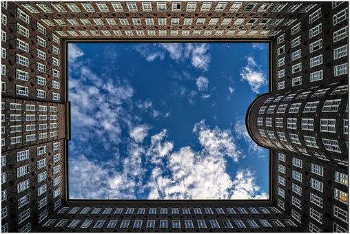 Building, Hamburg, Architecture, City, Sky
