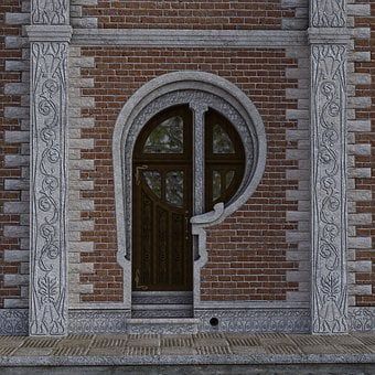 Doorway, Entrance, Building, Structure, Home, Residence