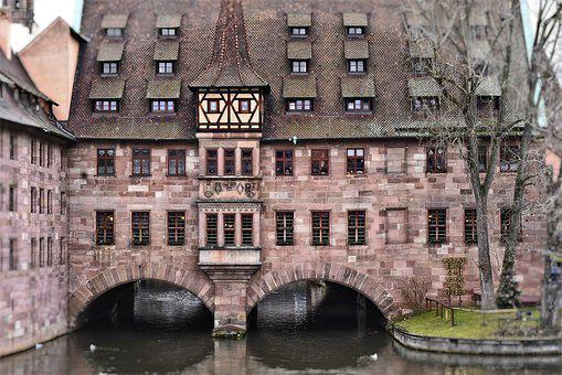 Nuremberg, Building, Historically, Old, Middle Ages