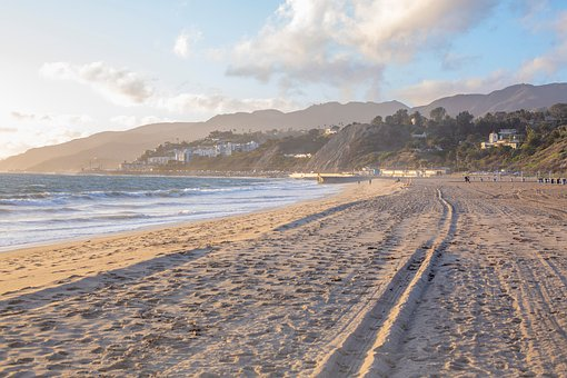 Beach, Pacific Palisades, California, Ocean