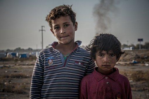Child, Migration, Childhood, Sadness, Hungry, Poverty