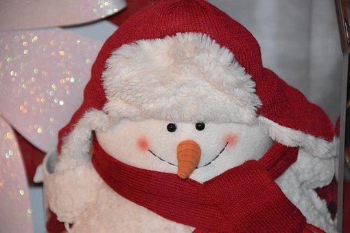Good Snow Man, Winter, Christmas, Snow, December