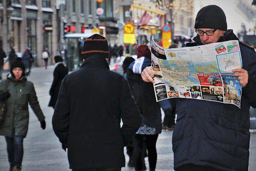 City, It, Reads, City plan, Street Photography