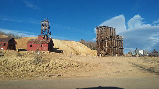 Gold Mine, Colorado, Landscape, Outdoor, Old Mine