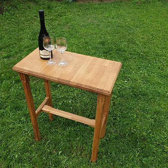 Desk, Wine, Lawn, Peace, Wood, Alcohol, Furniture