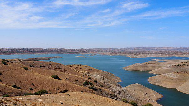Morocco, Reservoir, Drought, Climate Change, Water
