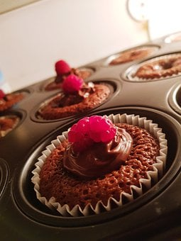 Eat, Cupcake, Muffin, Sweet, Berry, Bake, Hobby, Red