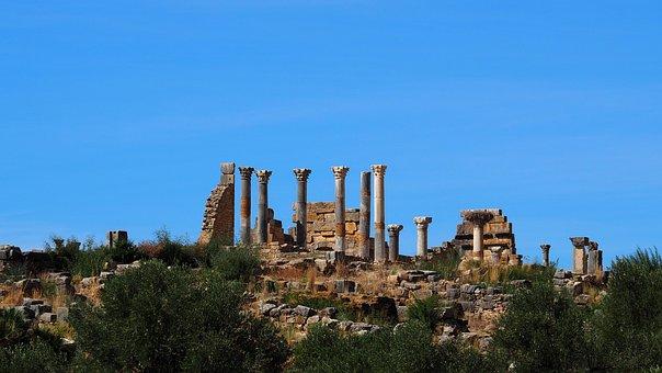 Morocco, Voloubilis, Ancient Times, Exhumation