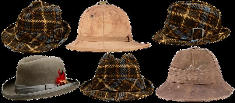 Men's Hat, Fashion, Fashionable, Elegance, Retro, Style