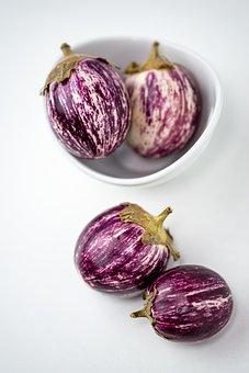 Eggplant, Purple, Vegetables, Food, Healthy, Garden