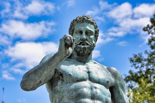 Statue, Man, Sculpture, Mystical