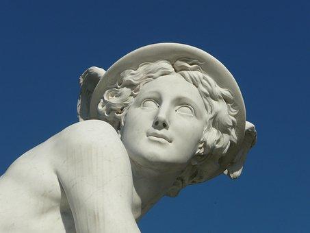 Sanssouci, Sculpture, Figure, Park, Marble, Berlin