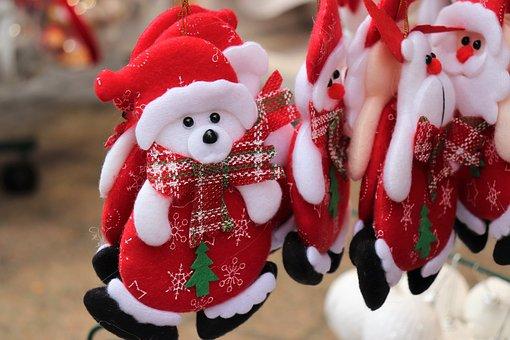Christmas Fair, Teddy Bears, Toys, Advent, Mood