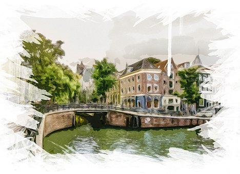 Amsterdam, Holland, Canal, River, Netherlands, Water