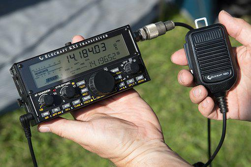 Radio, Portable, Battery Operated, Amateur Radio