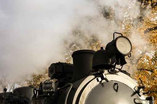 Steam Locomotive, Antique, Nostalgia, Train, Railway