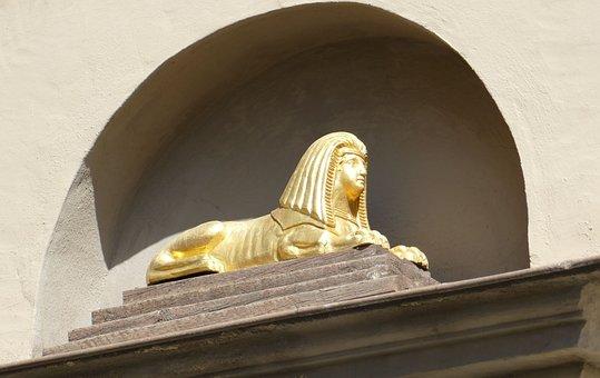 Naumburg, Sphinx, Saxony-anhalt, Historic Center