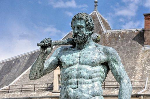 Statue, Man, Sculpture
