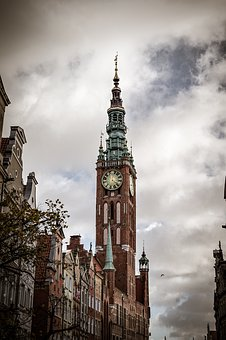 Gdańsk, The Town Hall, Tower, City, Poland