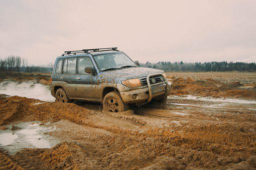 Offroad, Auto, Field, The Vehicle