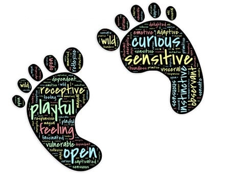 Feet, Toes, Footprint, Innocent, Playful, Child, Happy