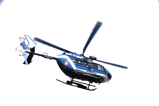 Helicopter, Isolated, Flying, Aircraft, Rotor, War, Sky
