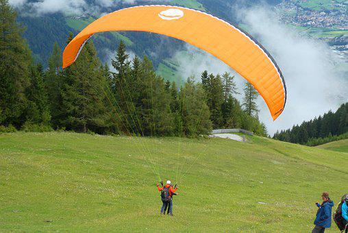 Jump, Paragliding, Sports, Adventure, Skydiving, Action