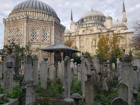 Cami, Istanbul, Architecture, Turkey, Tomb, Islam, Dome