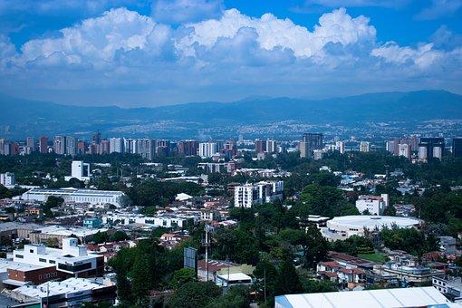 Guatemala, City, Architecture, Travel, Sky, Buildings
