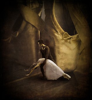 Ballet, Dancers, Mane, Ballerina, Dancing, Elegant