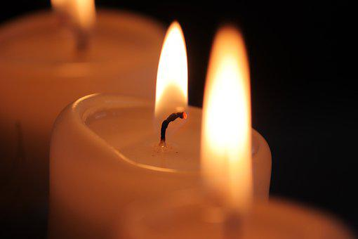 Candle, Candlelight, Advent, Wick, Glow, Burn, Light