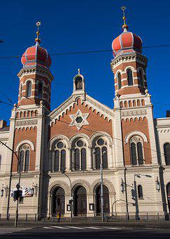 Czech Republic, Pilsen, Synagogue, City, Tourism, Beer