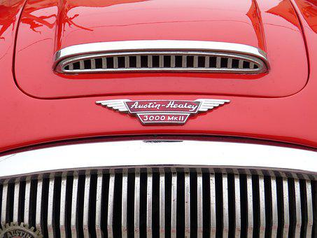 Austin Healey, Car, Classic, Sport, Coupe