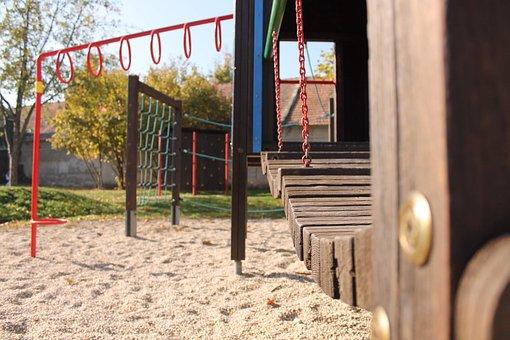 Playground, Chain, Climbing Tower, Outdoor