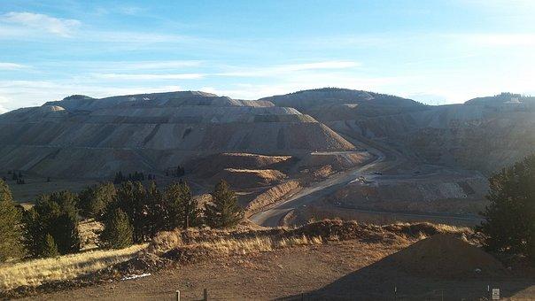 Mining, Dirt, Hills, Goldmine, Colorado, Cripple Creek