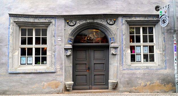 Goal, Input, Architecture, Door, Old, Gate