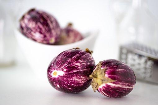 Eggplant, Kitchen Grater, White, Vegetables, Healthy