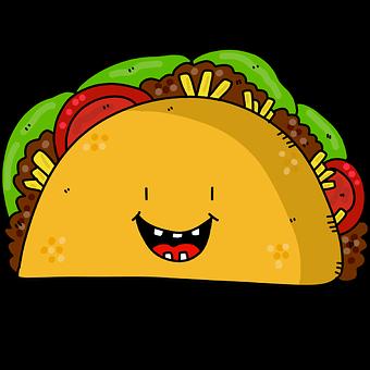 Taco, Taco Case, Lettuce, Tomato, Salad, Food